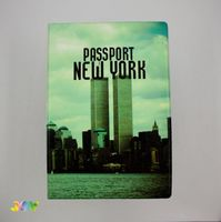 Обложка для паспорта NEW YORK. WORLD TRADE CENTER
