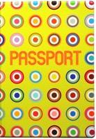 "Обложка для паспорта ""Yellow Colored Dots"""