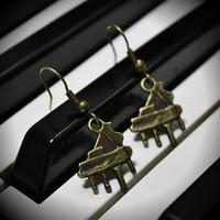 Серёжки PIANO