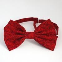 Галстук-бабочка RED LEAVES