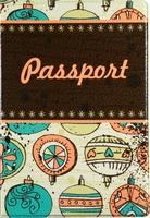 """Обложка для паспорта """"Ballons"""""""