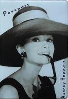 """Обложка для паспорта """"Одри Хепберн"""" (Audrey Hepburn) - 3"""